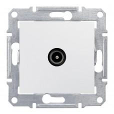 Механизм TV розетки Schneider Electric Sedna SDN3201821 проходной одноместный белый