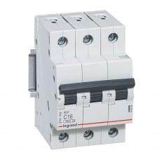 Автоматический выключатель Legrand RX3 419708 3P C 16A 4,5 кА