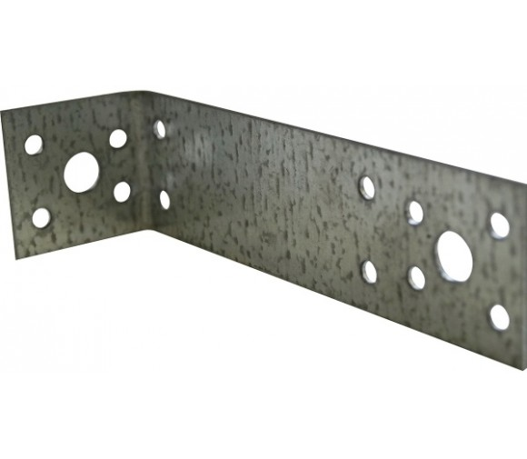 Крепежный уголок ассиметричный 2,0мм KUAS 145*55*90 мм
