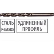 Сверло по металлу удлинённое 3,2 х 106 мм цилиндрический хвостовик Р6М5К5