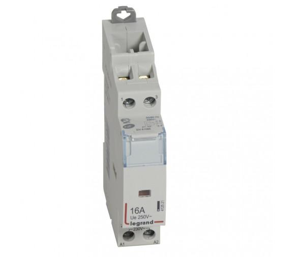 Контактор модульный Legrand 412521 2P 1НО+1НЗ 16 А