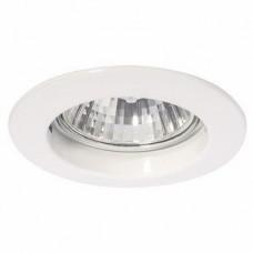 Светильник точечный встраиваемый Italmac Gamma 51 0 01 MR16 белый 50 Вт