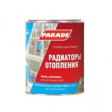 Эмаль акриловая Parade Classic A4 Радиаторы отопления термостойкая полуматовая белая 0,9 л