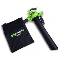Greenworks GD40BV без аккумулятора и зарядного устройства