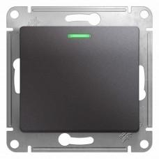 Механизм выключателя Schneider Electric Glossa GSL001313 одноклавишный с индикатором графит