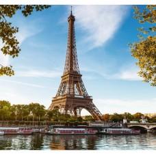 Фотообои виниловые на флизелиновой основе Decocode Весна в Париже 31-0031-KL 3х2,8 м
