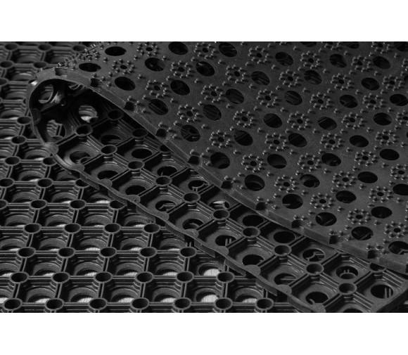 Коврик резиновый ринго-мат Eastern Rug Mills 500х800х16 мм ячеистый