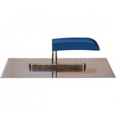 Гладилка нержавеющая сталь деревянная ручка 13х28 (з.6х6)
