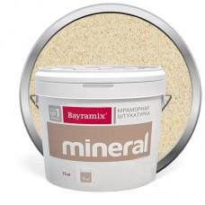 Штукатурка мраморная декоративная Bayramix Mineral 384 15 кг