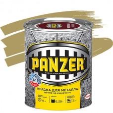 Panzer гладкая золотистая 0,25 л