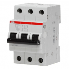 Автоматический выключатель ABB SH203L 3P 4.5кА 50А С