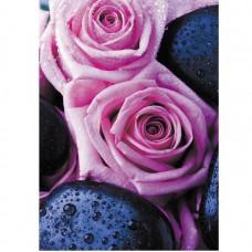 Фотообои виниловые на флизелиновой основе Decocode Бурбонская роза 21-0336-FR 2х2,8 м