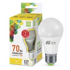 Лампа светодиодная ASD Standard A60 7W Е27 3000К