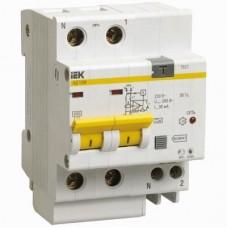 Автоматический выключатель дифференциального тока IEK АД12М 2Р С63 30мА