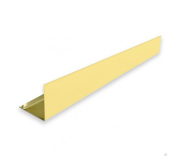 L-профиль алюминиевый Cesal  А09 золото люкс