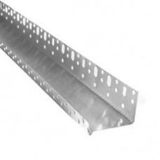 Профиль алюминиевый цокольный для утеплителя 50 мм