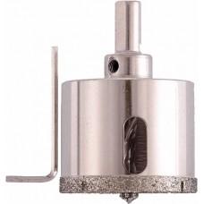 Коронка алмазная по стеклу и керамограниту 38 х 67 мм
