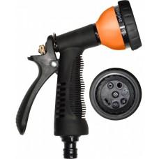 Пистолет-распылитель металлический корпус 6 режимов полива Master
