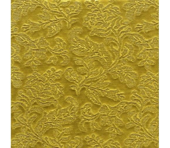 Декоративная панель МДФ Deco Цветы золото 113 2800х640 мм