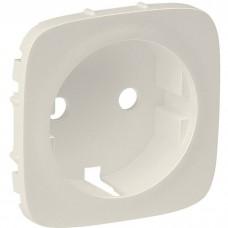 Лицевая панель для розетки Legrand Valena Allure 755206 одноместная Слоновая кость