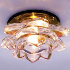 Светильник точечный встраиваемый Italmac Bohemia 220 16 72 G9 мультиколор 40 Вт