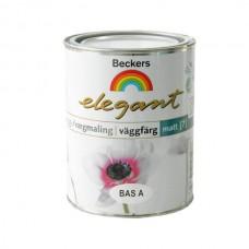 Краска Beckers Elegant Vaggfarg Matt Bas A матовая 0,9 л
