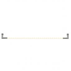 Светильник светодиодный Uniel ULM-F31-9W/WW IP20 Silver 59 см поворотный с адаптером