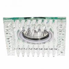 Светильник точечный встраиваемый Italmac Bohemia 51 32 70 MR16 прозрачный 50 Вт