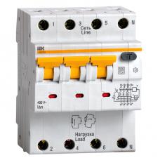 Автоматический выключатель дифференциального тока IEK АВДТ 34 C32 30мА