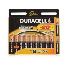 Батарейка алкалиновая Duracell Basic AAA LR03 Bl-18 18 шт