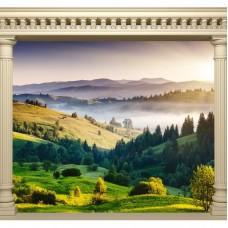 Фотообои виниловые на флизелиновой основе Decocode Гоный пейзаж 31-0061-PG 3х2,8 м