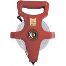Рулетка геодезическая Стандарт 30м*13мм фибергласовая лента