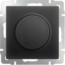 Механизм светорегулятора Werkel WL08-DM600 поворотный черный матовый