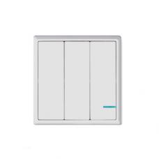 Комплект выключателя дистанционного Gritt Practic A180103W трехклавишный белый