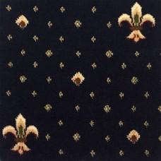 Ковролин Ковротекс Виктория Лилия 01-5011 синий 4 м резка
