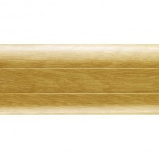 Плинтус ПВХ Ideal Комфорт К55 204 Дуб Имперский 2500х55х22 мм