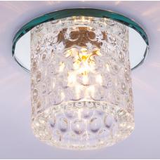 Светильник точечный встраиваемый Italmac Bohemia 220 12 70 G9 прозрачный 40 Вт