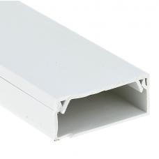Кабель-канал EKF-Plast Proxima 100х60 мм с двойным замком белый