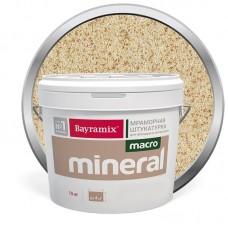 Штукатурка мраморная декоративная Bayramix Macro Mineral 1035 15 кг