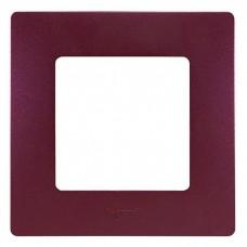 Рамка одноместная Legrand Etika 672561 сливовый