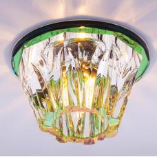 Светильник точечный встраиваемый Italmac Bohemia 220 13 72 G9 мультиколор 40 Вт