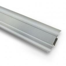 Плинтус ПВХ Ideal Комфорт К55 081 Металлик 2500х55х22 мм