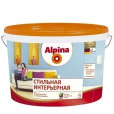 Краска Alpina Стильная интерьерная База 1 матовая 2,5 л