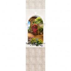 Стеновая панель ПВХ Novita Панорамы 3D Триумф №15 узор 2700х250 мм