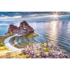 Фотообои виниловые на флизелиновой основе Decocode Предзакатный Байкал 32-0010-PL 3х2 м