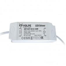Блок питания Volpe UET-ULP-Q122-36W для светодиодного светильника ULP-Q122 6060-36W