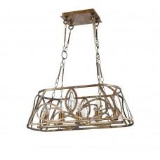 Светильник подвесной Maytoni House H237-05-G мраморное золото E14 5х40W 220V
