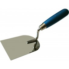 """Кельма """"лопатка"""" ПРОФИ деревянная ручка CrV 100х120"""
