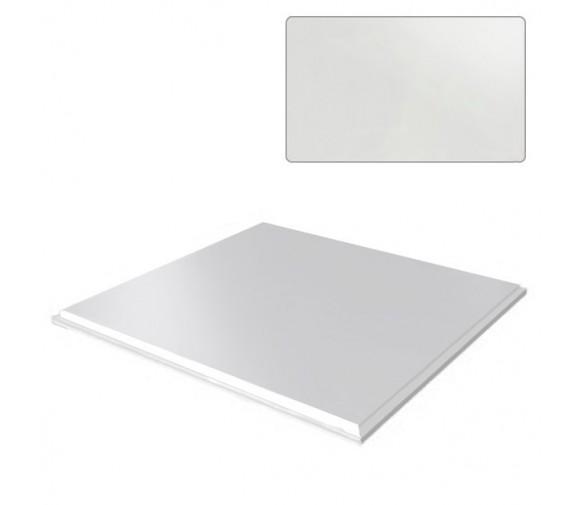 Потолок кассетный Cesal Tegular K45 Сталь оцинкованная белая 903 595х595 мм