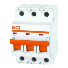 Автоматический выключатель TDM ВА47-29 SQ0206-0112 С 3P 32 A